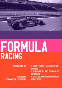 Ajándékbolt rally racing poszter 02